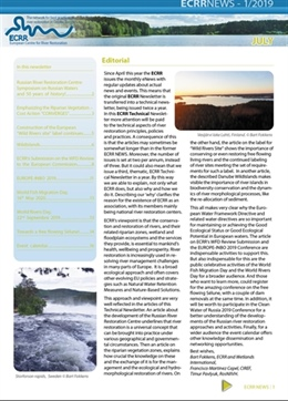 Read about Wild islands, Wild rivers, Riperian vegetation, Clean Water of Russia etc in ECRR TECHNICAL Newsletter