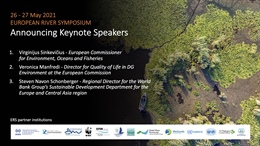 European River Symposium: European Rivers and Wetlands 2021. Draft programme is now online!