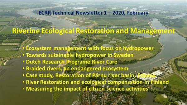 ECRR Technical Newsletter 1 - 2020, February